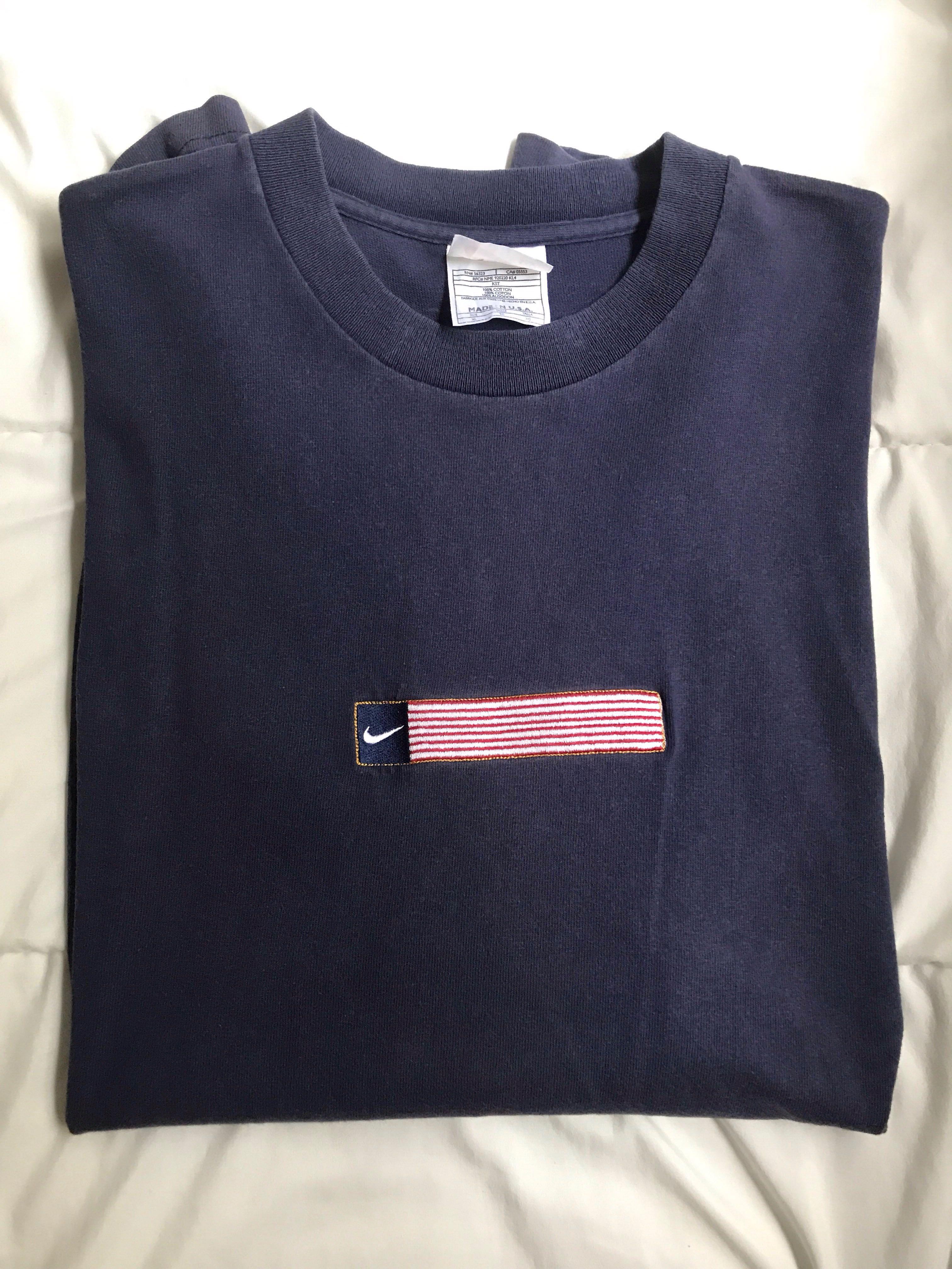 release date: e0d0c 4e0c4 Vintage Nike T-Shirt, Mens Fashion, Clothes, Tops on Carouse