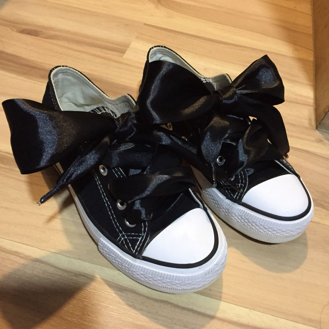 0bb0791cc3d Wide Ribbon Laced Shoes