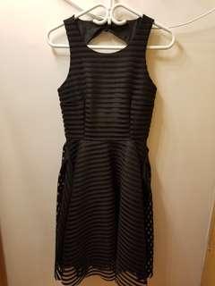 Vera Moda open back Black Dress