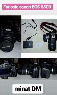 Kamera EOS 550D