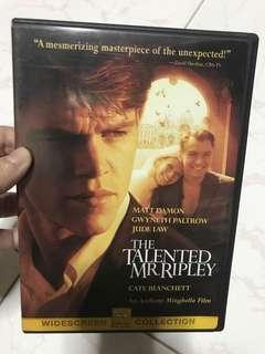 DVD- the talented Mr Ripley