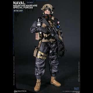 1/6 NAVAL MOUNTAIN WARFARE SPECIAL FORCES (78051) In The Ship
