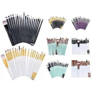 20 pcs. Make up brush set