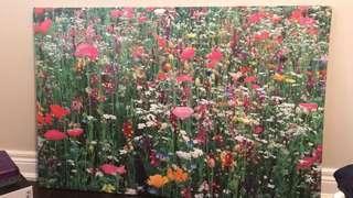 IKEA flower painting