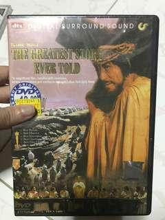 DVD -brand new in pack - the greatest story ever told