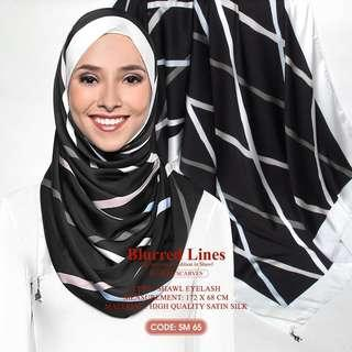 [READYSTOCK] Blurred Lines dUCkscarves