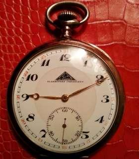 Gold Pocketwatch 1911 Glasshutter & Generic Breguet