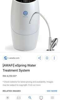 Espring water filter, water purifier