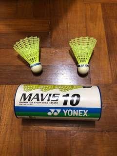 YONEX Mavis 10 Nylon Shuttlecocks
