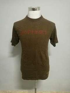 SOPHNET X FRAGMENT DESIGN X FYi DESIGN brand t-shirt