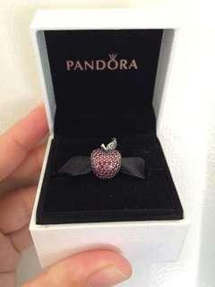 REPRICED!ORIGINAL PANDORA SPARKLING APPLE CHARM