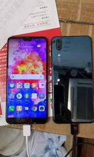 華為 Huawei P20 128G 有單卡 有雙卡 9成新