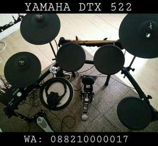 Sewa Rental Drum Elektrik Yamaha DTX 522 Antar Jemput