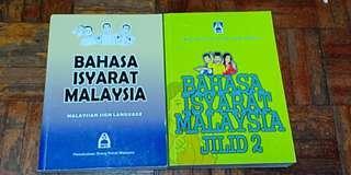 Bahasa Isyarat Malaysia Jilid 1 & 2 #NEW99