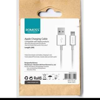 Romoss Premium Lighting USB Cable For iPhone 5/6