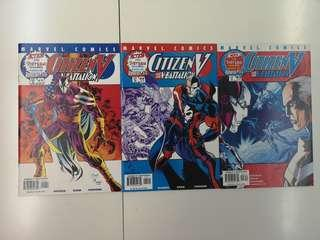 Citizen V (2001) Comics Set