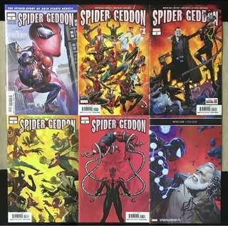 Spider-geddon (Complete) - Marvel Comics