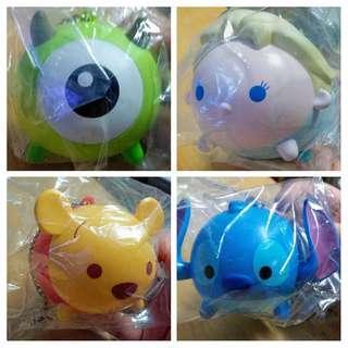卡通/玩具類: 7-11 Tsum Tsum 吊飾兼收納盒