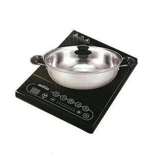 MISTRAL INDUCTION COOKER 2100W MIC2008 (inclusive of stainless steel pot)