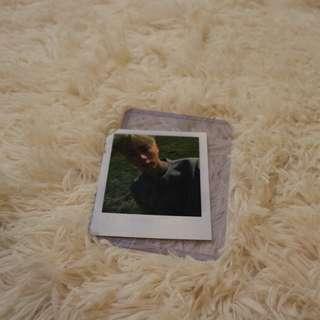 Seokjin Young Forever Polaroid