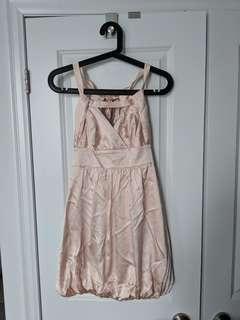 Marciano Small Silk Blush Dress