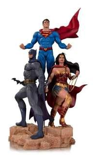 *MISB* DC Designer Series Trinity (Superman, Batman, Wonder Woman) Statue - Jason Fabok