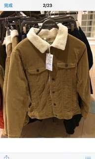 🚚 燈芯絨棕色外套