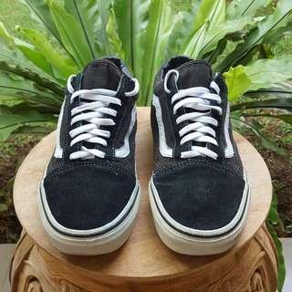 Sepatu Vans old skool black original