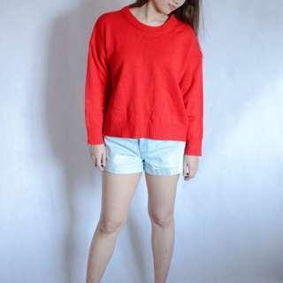 🆕️ Red Knitted Sweater
