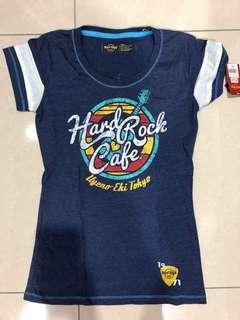 New : Hard Rock Tshirt Uyeno Eki Tokyo (size S)