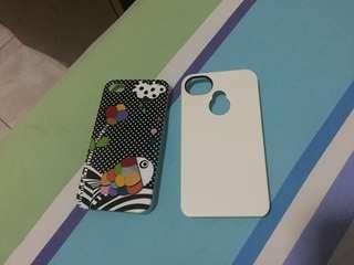 Paket 2 case iPhone 4