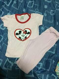 Minnie and Mickey Mouse Disney Baby Set