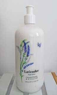 🆕 全新包郵!美國購入Crabtree & Evelyn Lavender Body Lotion 500ml/16.9oz