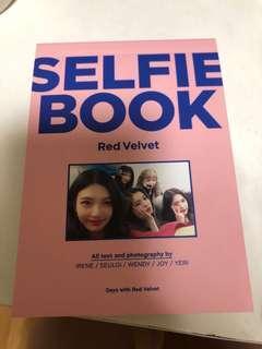 red velvet selfie book