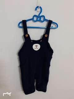 寶寶吊帶褲
