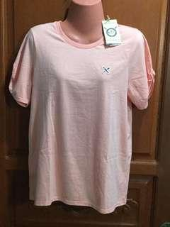 Peach-pink shirt