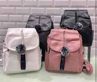 Backpack Import Korea Wanita Murah - Tas Punggung Branded Bandung - Backpack Fashion Korean - Tas Branded Bandung Gantungan Lucu