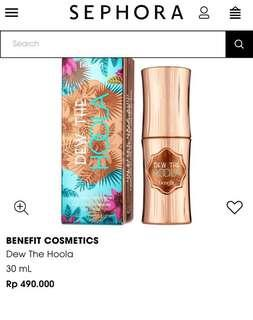 "Like New Soft mate Bronzer liquid "" dew the HooLa Benefit"""