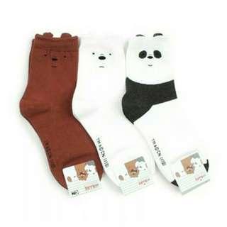 We Bare Bears socks #3