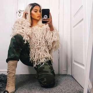 "Fashion Nova ""Stringing Around"" Sweater"