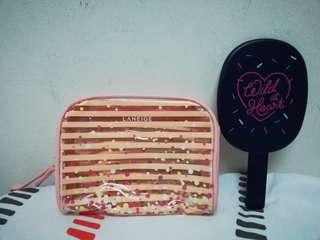 Laneige Pouch + Mirror #NEW99