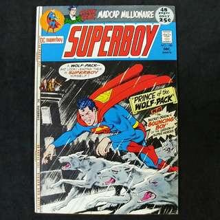 Superboy #180 (1971) Prince of the Wolf-Pack! / Legion of Super-Heroes - DC Comics / Bronze Age