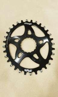 MRP Wave Oval chainring - 32T OVAL CINCH BOOST