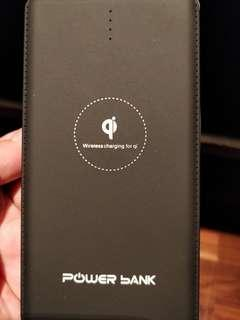 Wireless charger power bank 2 in 1 - 20000mAh