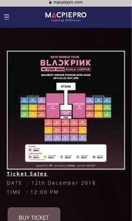BLACKPINK 2019 WORLD TOUR TICKETS FOR TWO!!