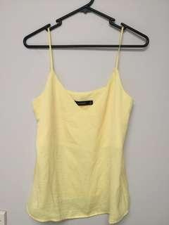 glassons yellow cami