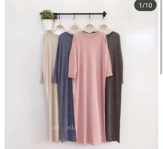 Dress comfy brand Oh Olla (grey only)
