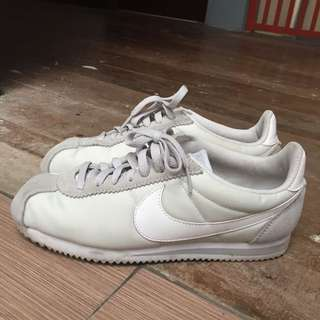 NIKE CORTEZ LEATHER BLACK Womens Fashion Womens Shoes On Carousell
