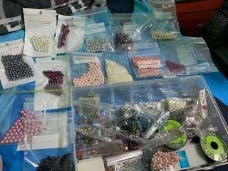 Assorted beads $15 for all
