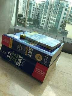 SAT books and ACT crash course